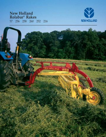 New Holland Rolabar® Rakes