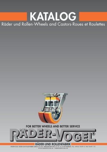 Main catalog HK2 wheels and casters - September ... - Räder-Vogel