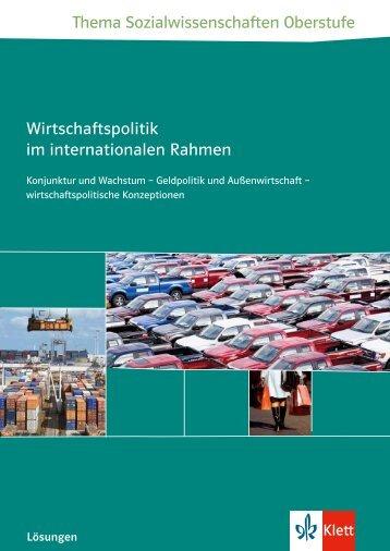 Lehrermaterialien - Ernst Klett Verlag