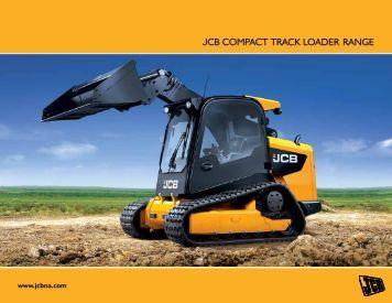 JCB COMPACT TRACK lOAdeR RANGe - DEMCO JCB