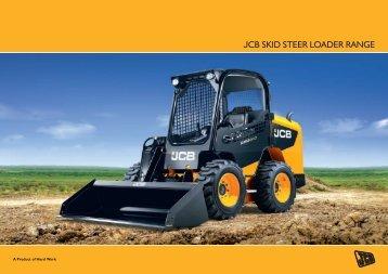 JCB SKID STEER loaDER RaNGE - JCB NSPCC Auction