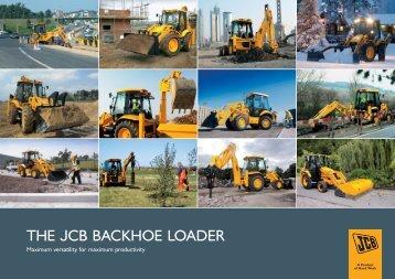 THE JCB BACKHOE LOADER