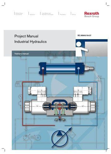 Project Manual Industrial Hydraulics - Bosch Rexroth
