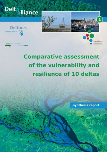 Comparative assessment of the vulnerability and resilience of 10 ...