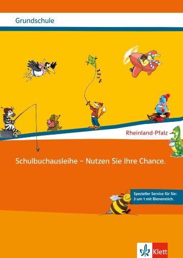 Schulbuchausleihe – Nutzen Sie Ihre Chance. - Ernst Klett Verlag