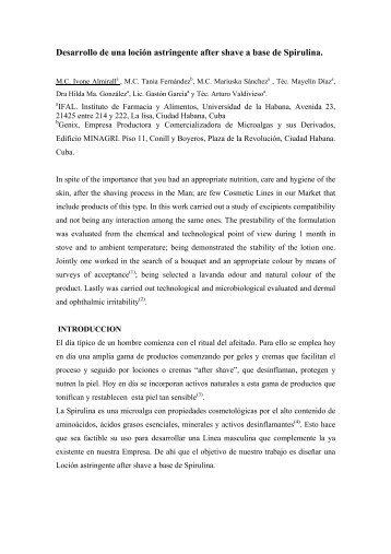 Taller B Productos Naturales, Plantas Medicinales y ... - Infomed