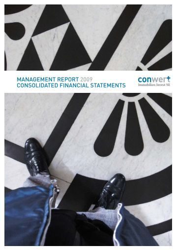 management report 2009 consolidated financial statements