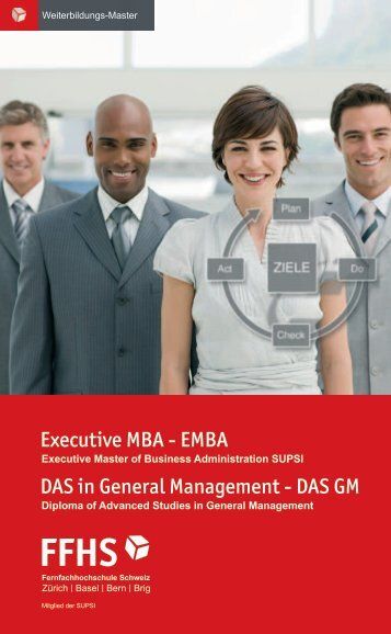 Executive MBA - EMBA DAS in General Management - DAS GM