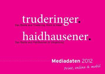 Mediadaten 2012 - Truderinger