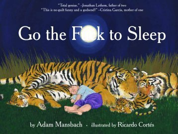 Go the Fuck to Sleep - Hoffman Imaging