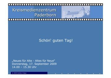 Kreismedienzentrum Paderborn - Kreis Paderborn