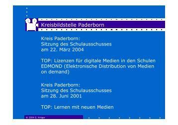 Kreisbildstelle Paderborn - Kreis Paderborn