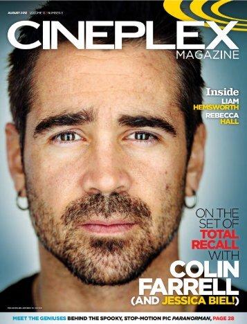 Cineplex Magazine August2012