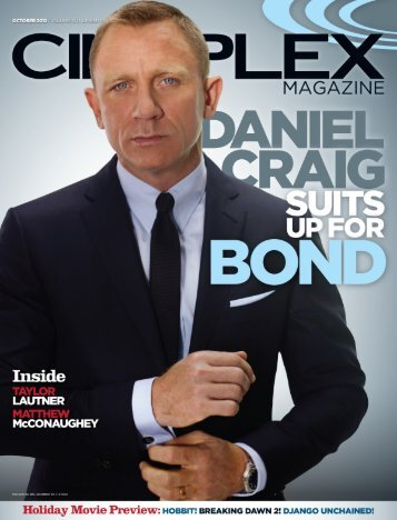 Cineplex Magazine October2012