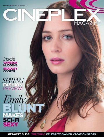 Cineplex Magazine March2011