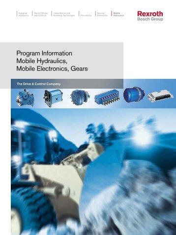 Program Information Mobile Hydraulics, Mobile ... - ERGOVIAL
