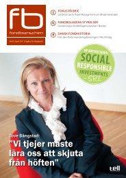 SOCIAL - Fondbranschen