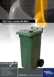 120 l from model EN 840-1 - Europlast