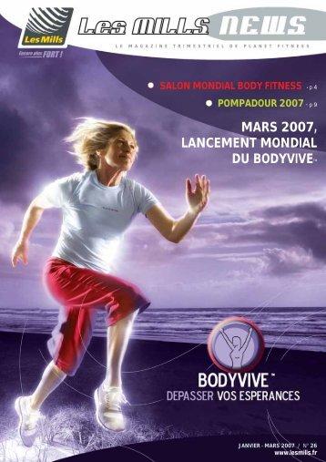 Salon Mondial Body Fitness - Les Mills