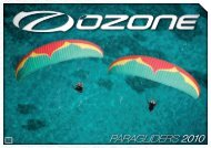 PARAGLIDERS 2010 - Ozone