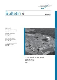 Bulletin 4 - Nuklearforum Schweiz