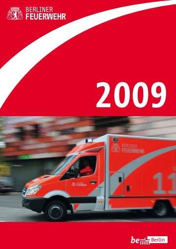 Jahresbericht der Berliner Feuerwehr 2009