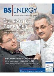 Ausgabe 2/2008 - BS Energy