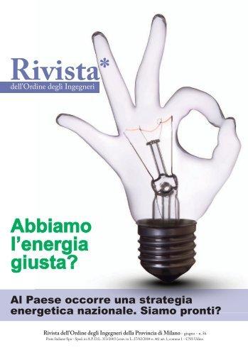 Rivista n°56 - giugno 2012 - Ordine degli Ingegneri della Provincia ...