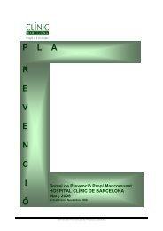 PLA R E V E N C I Ó Servei de Prevenció Propi Mancomunat ... - Inici
