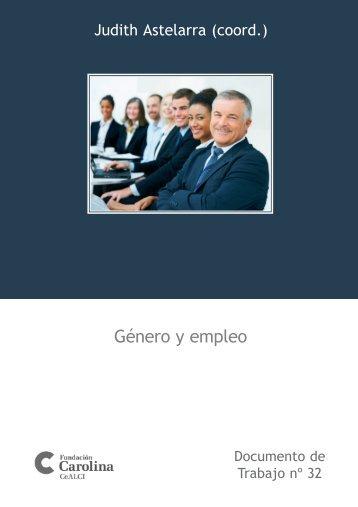 Género y empleo - Fundación Carolina