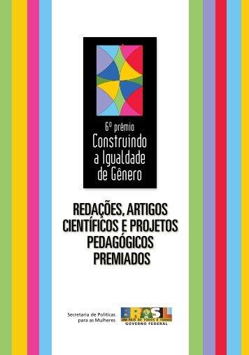 6º Prêmio Construindo a Igualdade de Gênero - CNPq