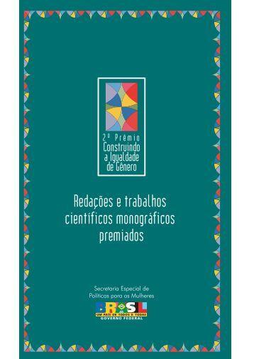 2º Prêmio Construindo a Igualdade de Gênero - CNPq