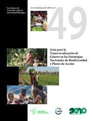 Guía para la Transversalización de Género en las - Convention on ...