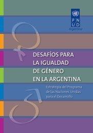 Desafíos para la igualdad de género en Argentina - Programa de ...