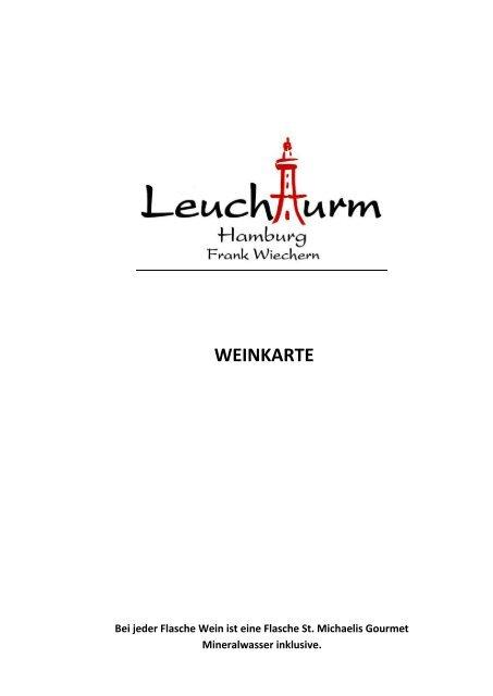 Weinkarte Leuchtturm Harburg