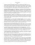Curriculum Vitae - Matson Consulting - Page 2