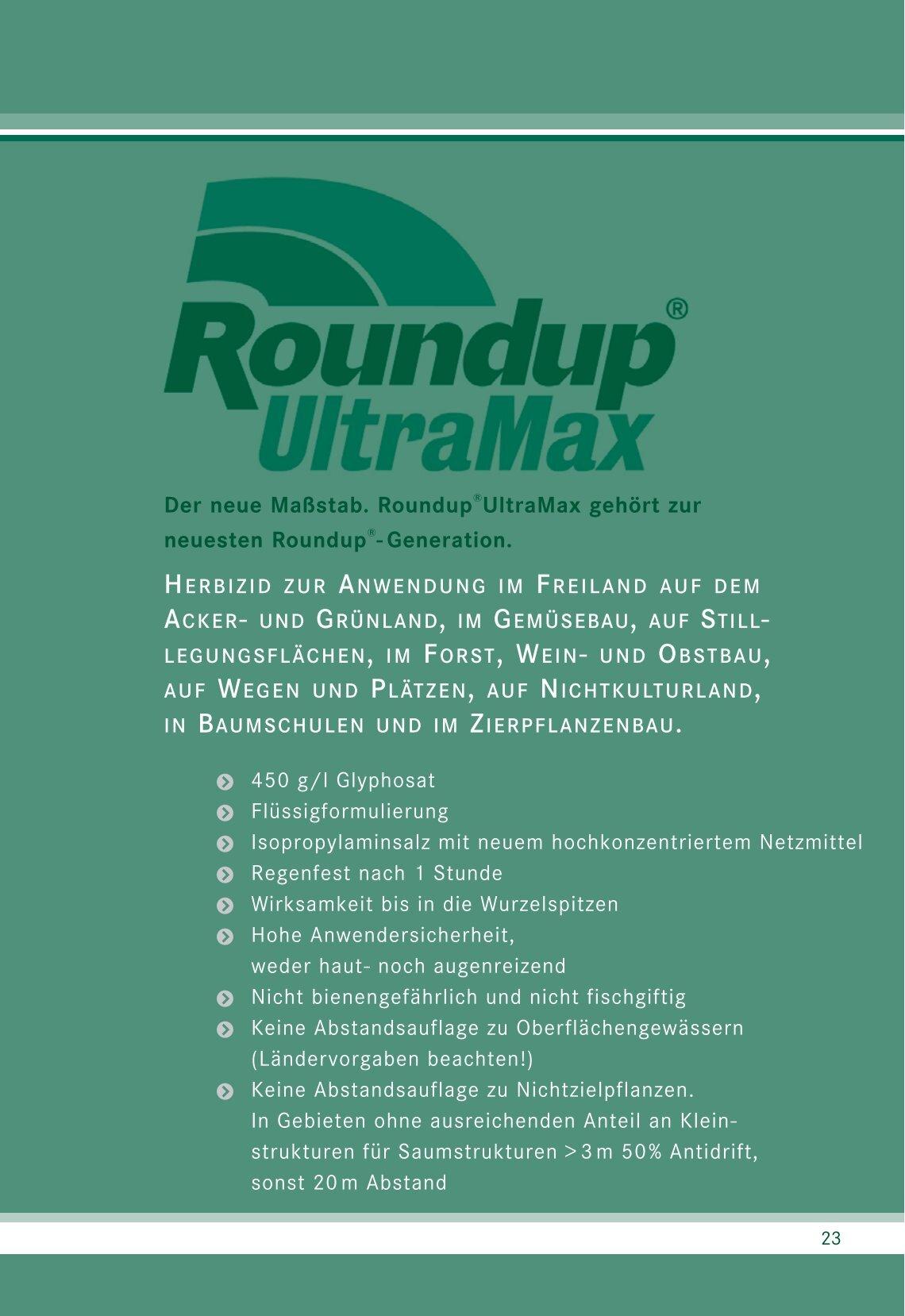 Roundup Ultramax De