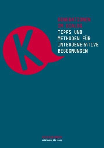 generationen im diaLog tipps und methoden für intergenerative ...