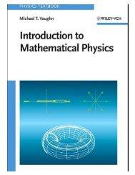 Introduction to Mathematical Physics Textbook - Ruang Baca FMIPA ...