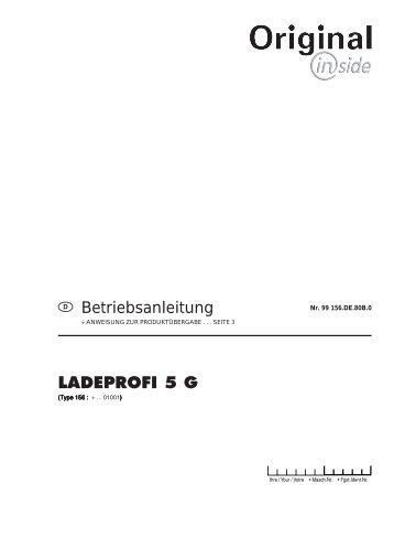 Betriebsanleitung LADEPROFI 5 G - Alois Pöttinger Maschinenfabrik ...