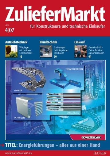 Wartungsfreie Gelenkwellen - Elbe Holding GmbH & Co. KG