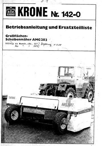 Page 1 Page 2 Vorwortzum AMG 282 Z Werter Kunde! Durch den ...