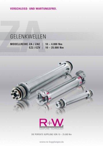 ZA Gelenkwellen - R + W Antriebselemente GmbH
