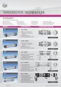 ZA Gelenkwellen - R + W Antriebselemente GmbH - Page 2