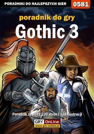 Nieoficjalny poradnik GRY-OnLine do gry Gothic 3