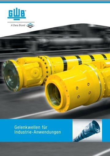 Gelenkwellen für Industrie-Anwendungen - GWB
