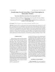Transforming Growth Factor-Beta 1 Gene Polymorphism in ...