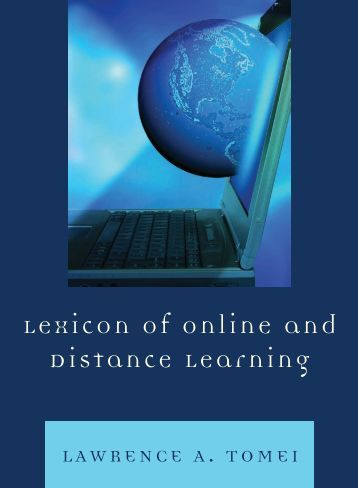 Lexicon of Online and Distance Learning - PEEF's Digital Library