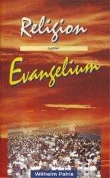 Religion oder Evangelium