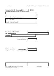 Streckenliste 2013/14 - Lahn-Dill-Kreis